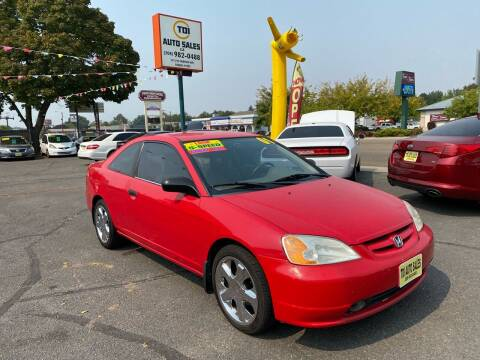 2001 Honda Civic for sale at TDI AUTO SALES in Boise ID