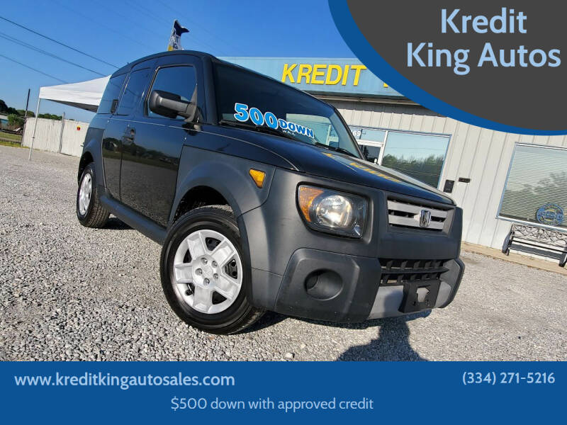 2008 Honda Element for sale at Kredit King Autos in Montgomery AL