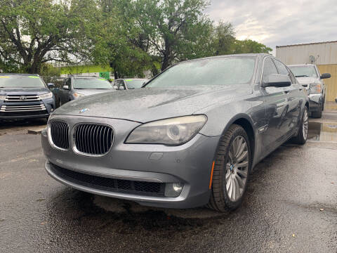 2012 BMW 7 Series for sale at Bargain Auto Sales in West Palm Beach FL
