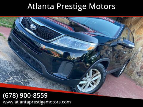 2014 Kia Sorento for sale at Atlanta Prestige Motors in Decatur GA