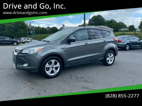 2014 Ford Escape for sale at Drive and Go, Inc. in Hickory NC