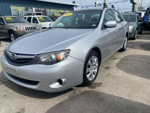 2010 Subaru Impreza for sale at Car Barn of Springfield in Springfield MO
