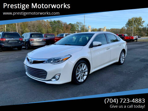 2013 Toyota Avalon for sale at Prestige Motorworks in Concord NC