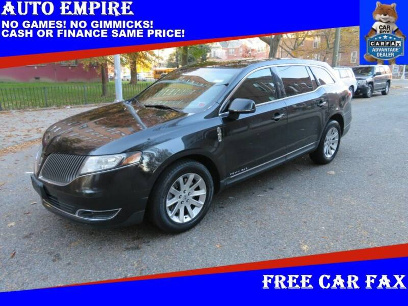 2013 Lincoln MKT Town Car for sale at Auto Empire in Brooklyn NY