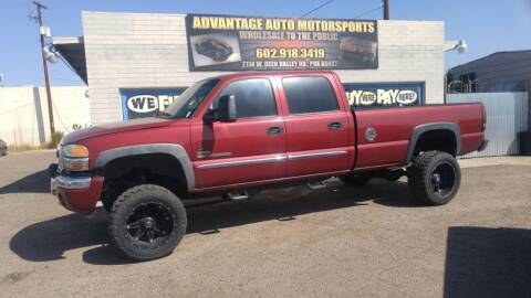 2006 GMC Sierra 2500HD for sale at Advantage Motorsports Plus in Phoenix AZ