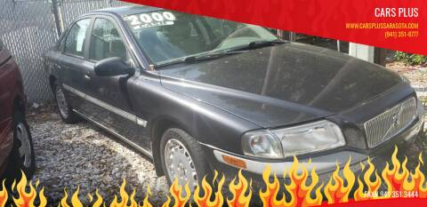 2000 Volvo S80 for sale at Cars Plus in Sarasota FL