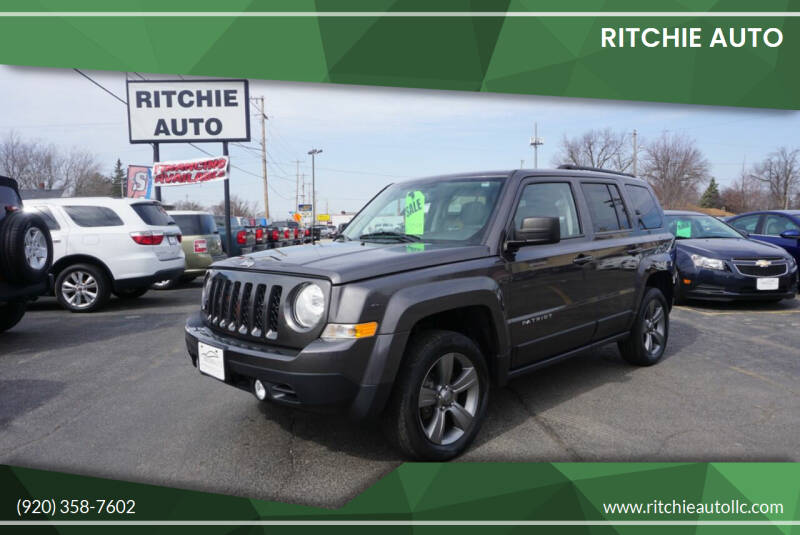 2015 Jeep Patriot for sale at Ritchie Auto in Appleton WI