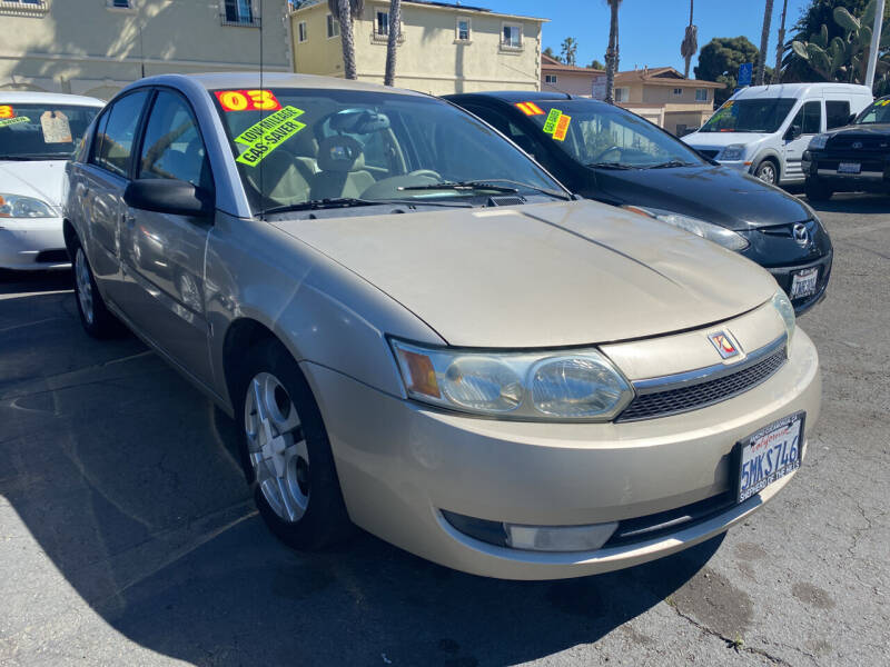2003 Saturn Ion for sale at North County Auto in Oceanside CA