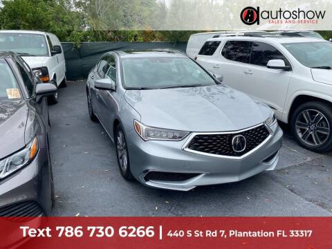 2018 Acura TLX for sale at AUTOSHOW SALES & SERVICE in Plantation FL