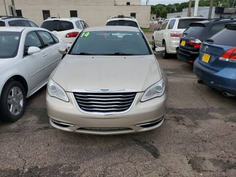 2014 Chrysler 200 for sale at Brothers Used Cars Inc in Sioux City IA