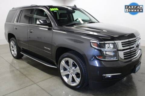 2018 Chevrolet Tahoe for sale at Bob Clapper Automotive, Inc in Janesville WI