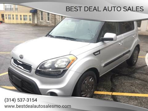 2012 Kia Soul for sale at Best Deal Auto Sales in Saint Charles MO