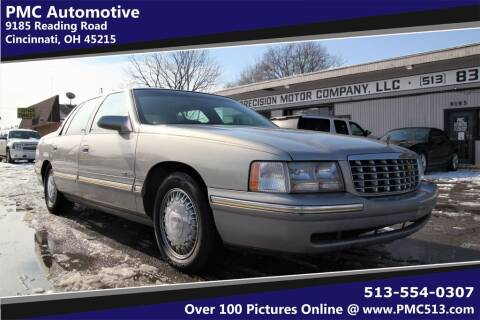 1998 Cadillac DeVille for sale at PMC Automotive in Cincinnati OH