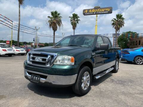 2007 Ford F-150 for sale at A MOTORS SALES AND FINANCE in San Antonio TX
