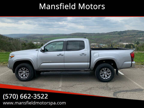2018 Toyota Tacoma for sale at Mansfield Motors in Mansfield PA