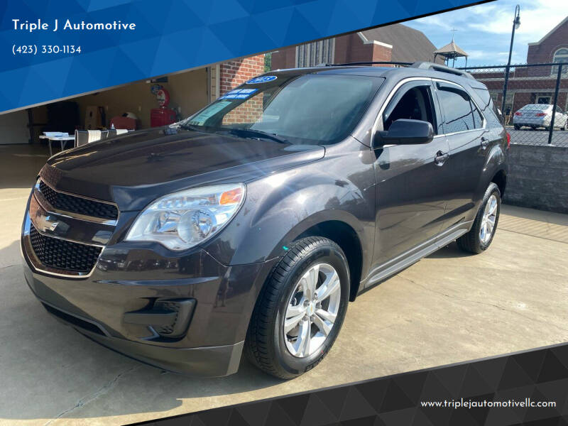 2015 Chevrolet Equinox for sale at Triple J Automotive in Erwin TN