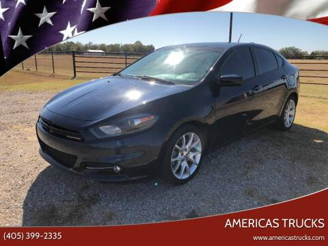 2013 Dodge Dart for sale at Americas Trucks in Jones OK