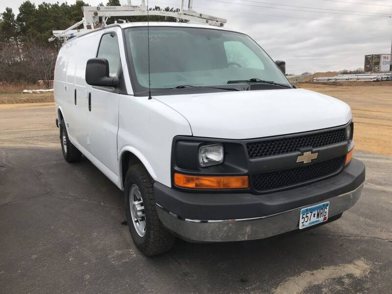 2013 Chevrolet Express Cargo for sale at CARGO VAN GO.COM in Shakopee MN