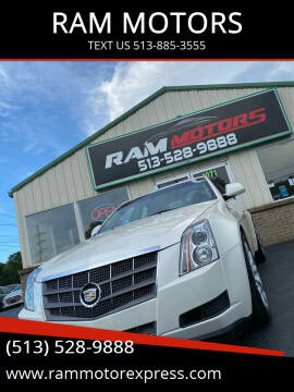 2009 Cadillac CTS for sale at RAM MOTORS in Cincinnati OH