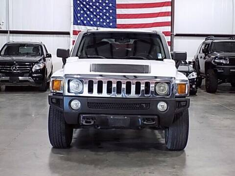 2007 HUMMER H3 for sale at Texas Motor Sport in Houston TX