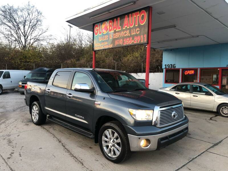 2010 Toyota Tundra for sale at Global Auto Sales and Service in Nashville TN