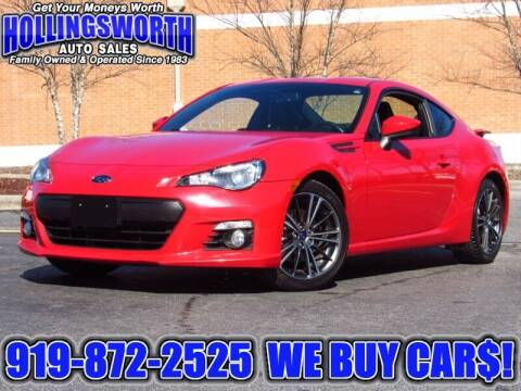 2015 Subaru BRZ for sale at Hollingsworth Auto Sales in Raleigh NC