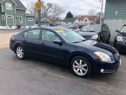 2005 Nissan Maxima for sale at SHEFFIELD MOTORS INC in Kenosha WI