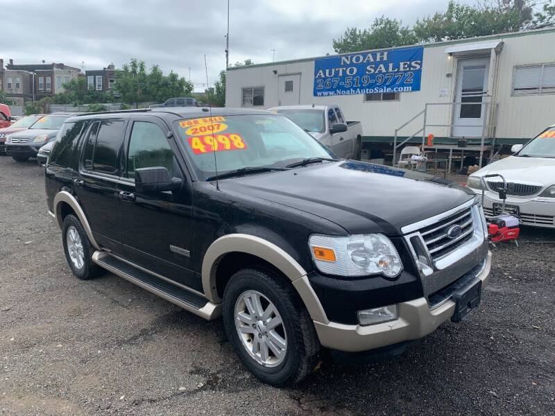 2007 Ford Explorer for sale at Noah Auto Sales in Philadelphia PA