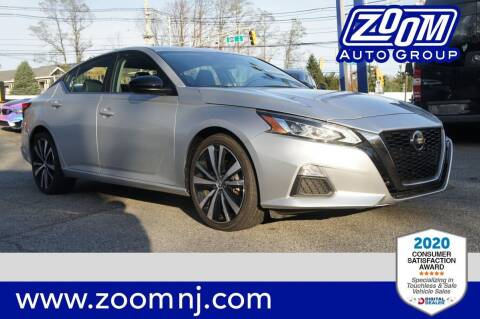2019 Nissan Altima for sale at Zoom Auto Group in Parsippany NJ