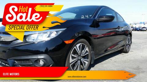 2018 Honda Civic for sale at ELITE MOTORS in Victorville CA