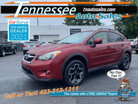 2014 Subaru XV Crosstrek for sale at Tennessee Auto Sales in Elizabethton TN