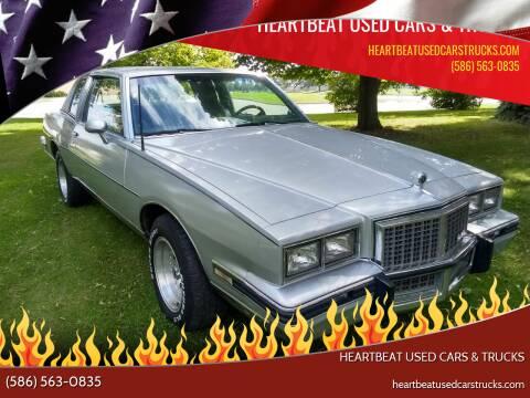 1985 Pontiac Grand Prix for sale at Heartbeat Used Cars & Trucks in Clinton Twp MI