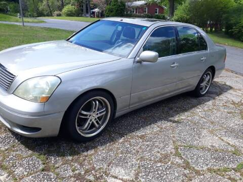 2001 Lexus LS 430 for sale at WIGGLES AUTO SALES INC in Mableton GA