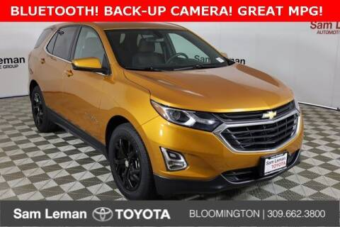 2018 Chevrolet Equinox for sale at Sam Leman Toyota Bloomington in Bloomington IL