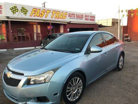 2012 Chevrolet Cruze for sale at Fast Trac Auto Sales in Phoenix AZ