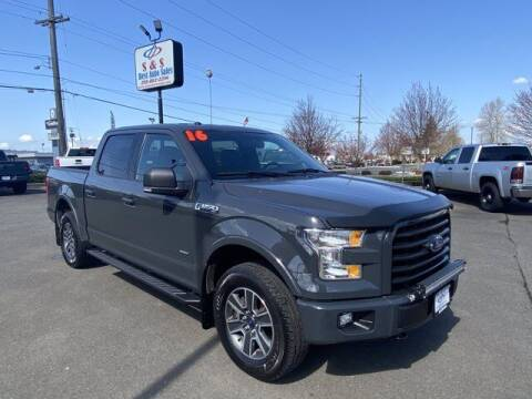 2016 Ford F-150 for sale at S&S Best Auto Sales LLC in Auburn WA