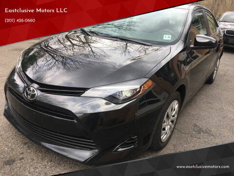 2018 Toyota Corolla for sale at Eastclusive Motors LLC in Hasbrouck Heights NJ