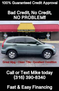 2010 Honda CR-V for sale at Affordable Mobility Solutions, LLC - Standard Vehicles in Wichita KS