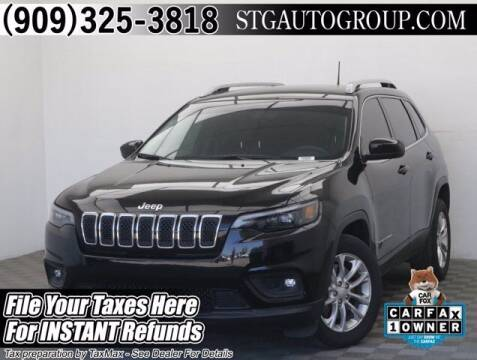 2019 Jeep Cherokee for sale at STG Auto Group in Montclair CA