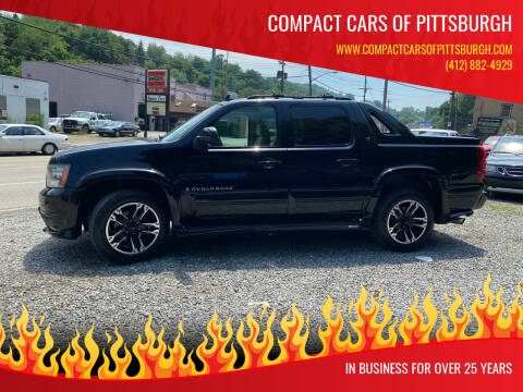 2007 Chevrolet Avalanche for sale at Compact Cars of Pittsburgh in Pittsburgh PA