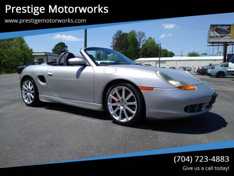 2001 Porsche Boxster for sale at Prestige Motorworks in Concord NC