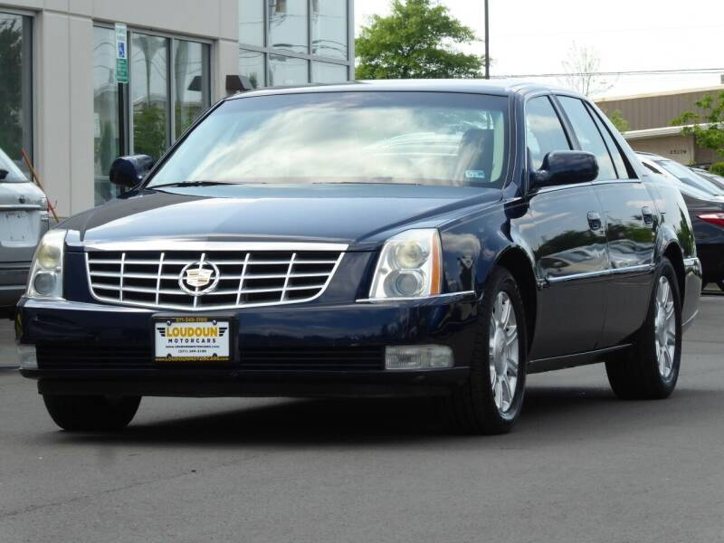 2008 Cadillac DTS for sale at Loudoun Used Cars - LOUDOUN MOTOR CARS in Chantilly VA
