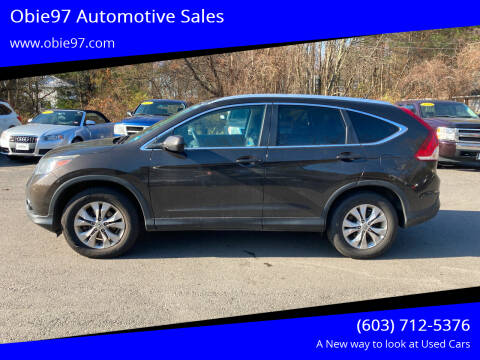2014 Honda CR-V for sale at Obie97 Automotive Sales in Londonderry NH
