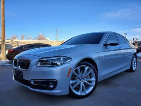 2015 BMW 5 Series for sale at LA Motors LLC in Denver CO