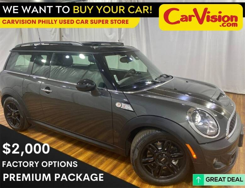 2014 MINI Clubman for sale at Car Vision Mitsubishi Norristown - Car Vision Philly Used Car SuperStore in Philadelphia PA