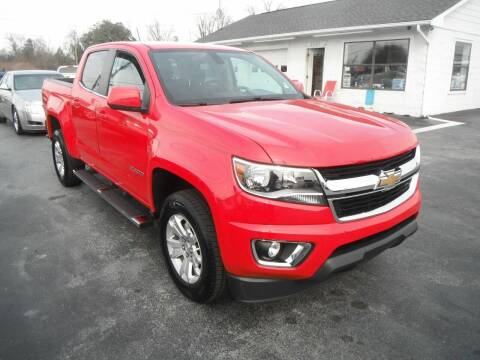 2016 Chevrolet Colorado for sale at Morelock Motors INC in Maryville TN