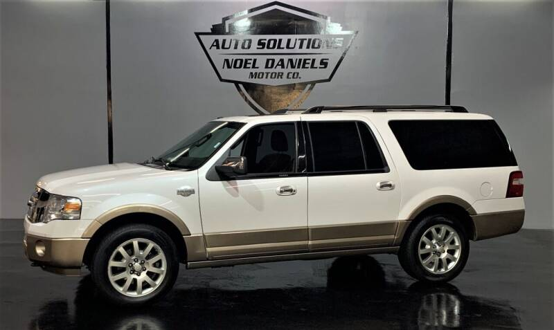 2014 Ford Expedition EL for sale at Noel Daniels Motor Company in Ridgeland MS