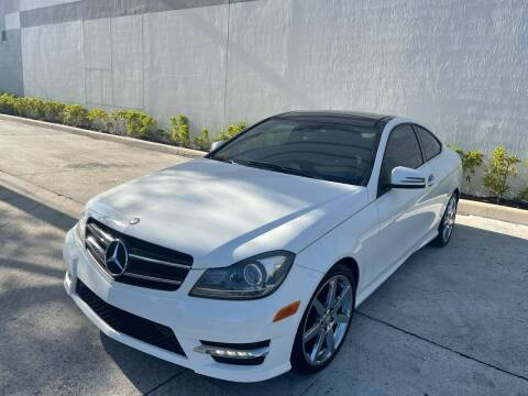 2014 Mercedes-Benz C-Class for sale at Auto Beast in Fort Lauderdale FL
