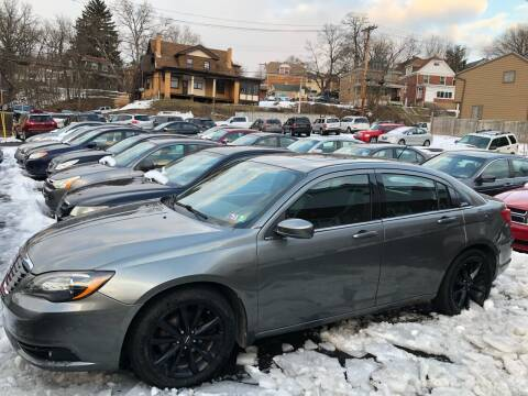 2011 Chrysler 200 for sale at Fellini Auto Sales & Service LLC in Pittsburgh PA