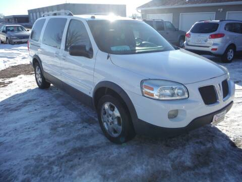 2006 Pontiac Montana SV6 for sale at Car Corner in Sioux Falls SD